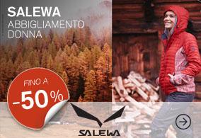 Salewa Abbigliamento donna 30percento