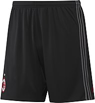 Adidas AC Milan Home Replica Short - pantaloncini calcio, Black