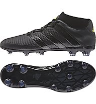 Adidas ACE 16.2 Primemesh FG/AG Fußballschuhe für harte Rasenplätze/Kunstrasenplätze, Black