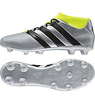 Adidas ACE 16.3 Primemesh FG/AG - Fußballschuhe, Grey/Yellow