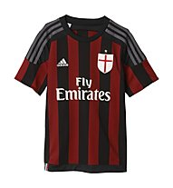 Adidas Maglia calcio Home Replica AC Milan bambino 2016, Black/Victory Red