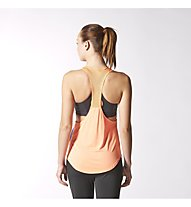 Adidas Dance Racer Top Damen, Semi Night Flash/Flash Orange