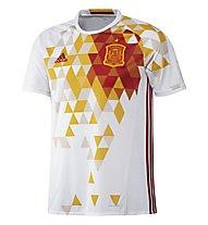 Adidas Maglia calcio Away Nazionale Spagna Replica EURO 2016, White/Red