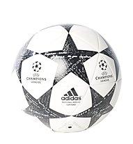Adidas Finale 16 Juventus Capitano - pallone da calcio, White/Black