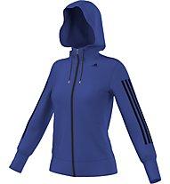Adidas Gym Hoodie Donna, Bold Blue