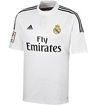 Adidas Home Replica Player Real Madrid, White