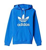 Adidas Originals Hoodie Trefoil - felpa con cappuccio, Blue