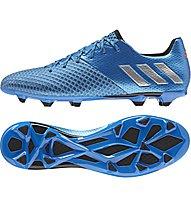 Adidas Messi 16.2 FG - scarpe da calcio per terreni compatti, Blue
