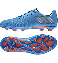 Adidas Messi 16.3 FG J - Fußballschuhe Kinder, Blue
