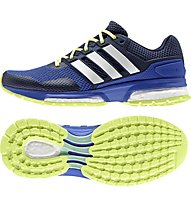 Adidas Response Boost 2.0 - scarpa running donna, Bold Blue/White