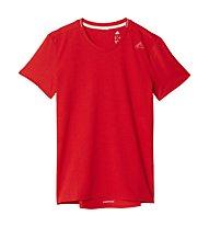 Adidas Supernova SS Tee Damen-Runningshirt, Red