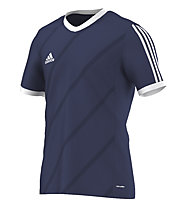 Adidas Tabe 14 T-Shirt calcio, Dark Blue/White