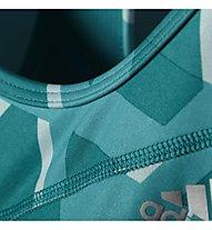 Adidas Techfit Triax-Print Sport-BH, Eqt Green/Print/Silver