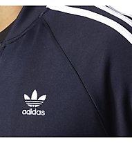 Adidas Originals Track Jacket Superstar Felpa, Night Blue