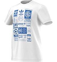 Adidas Originals Vintage Trfl T T-Shirt, White