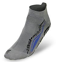 Akkua Wellness Experience Classic Socken, Grey/Blue
