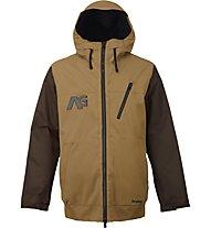 Analog Greed Jacket Giacca con cappuccio Snowboard, Masonite