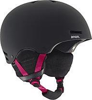Anon Greta - casco snowboard donna (2016), Black/Pink
