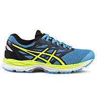 Asics Gel Cumulus 18 GS - Kinder Laufschuhe, Blue/Yellow