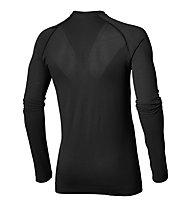 Asics Seamless LS - maglia running, Black