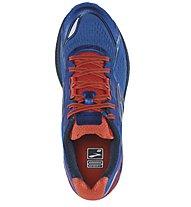 Brooks Ghost 8 M - Herrenlaufschuh, Light Blue/Orange