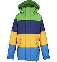 Burton Boys' Symbol Snowboardjacke (2014/15), C-Prompt/Deep Sea/Yolky/Mascot
