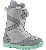 Burton Starstruck Boa W Scaponi Snowboard All Mountain, Grey