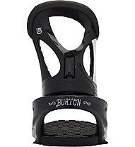 Burton Stiletto Re:Flex Attacchi Snowboard donna, Black/White