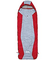 Camp Sint Cube 600 - Kunstfaserschlafsack, Red/Grey