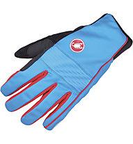 Castelli Chiro 3 Glove WINDSTOPPER Rad-Handschuhe, Drive Blue/Red