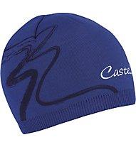 Castelli Cortina Knit W Cap, Deep Blue