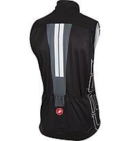 Castelli Free 3 Vest WINDSTOPPER - gilet bici, Black/Turbulance