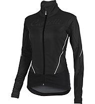 Castelli Mortirolo W Jacket Radjacke, Black/White