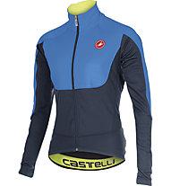 Castelli Passo Giau Jacket Radjacke, Blue/Black