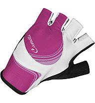Castelli Perla Due W Glove, White/Fucsia/Pink