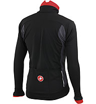 Castelli Senza Jacket, Black/Anthracite/Red