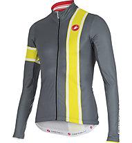 Castelli Storica Jersey FZ - maglia bici a manica lunga, Turbulance/Sulphur