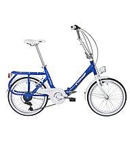 Cicli Cinzia Sixtie's Aluminium 20 Faltrad, Blue