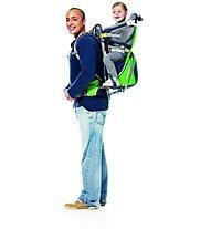 Deuter Kid Comfort Air - zaino porta bambino, Graphite/Spring