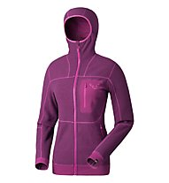 Dynafit Mera 2 Ptc W Hoody Giacca in pile donna, Violet