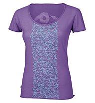 E9 New Start Sp Smu T-Shirt Donna, Lavender