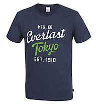 Everlast Light Jersey T-Shirt, Navy/Green