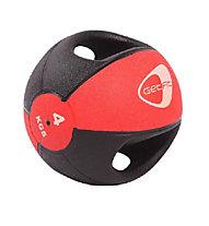 Get Fit Medizin Ball 4 kg, Black/Red