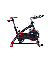 Get Fit Rush 331 Speed Bike, Black/Red