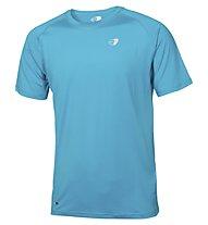 Get Fit T-shirt running, Light Blue