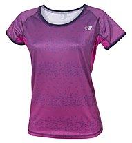 Get Fit T-Shirt Running Damen, Rose Violet