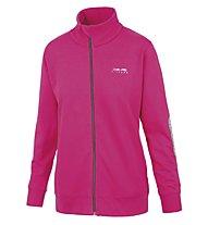 Get Fit Woman Sweater Full Zip Sweatshirt-Jacke Damen, Fuchsia