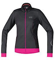 GORE BIKE WEAR Element WS SO Lady Jacket, Black/Pink