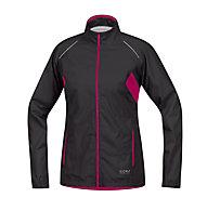 GORE RUNNING WEAR Sunlight 3.0 Active giacca GORE-TEX donna, Black/Pink