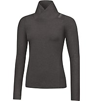 GORE RUNNING WEAR Sunlight Lady Thermo LS Maglia a maniche lunghe running donna, Raven Brown
